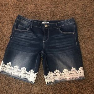 Girl's Denim Shorts